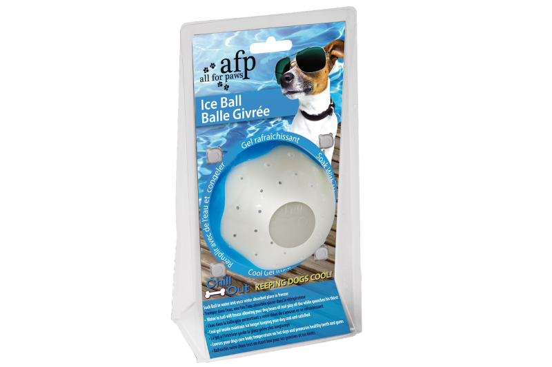 Chill Out - Ice Ball Large - Eisball - cooles Hundespielzeug zum Einfrieren