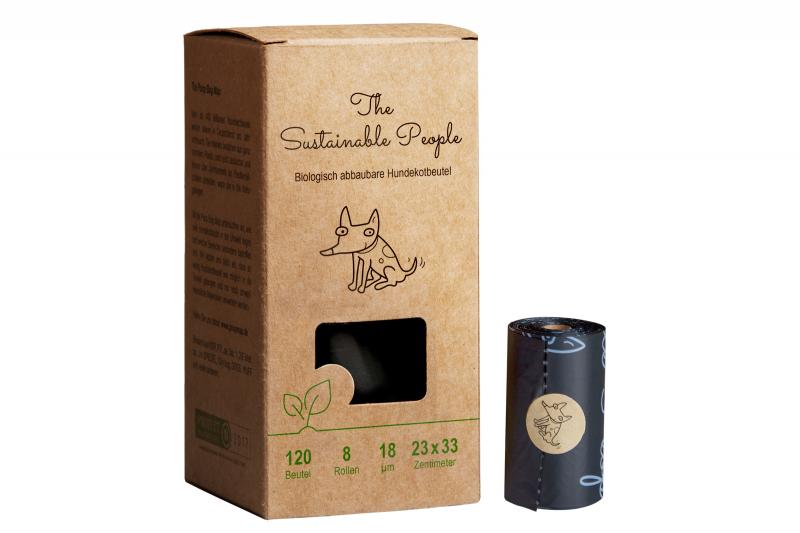 Bio-Hundekotbeutel I Ohne Henkel I Extra Dick I Sicher & Feuchtigkeitsbeständig