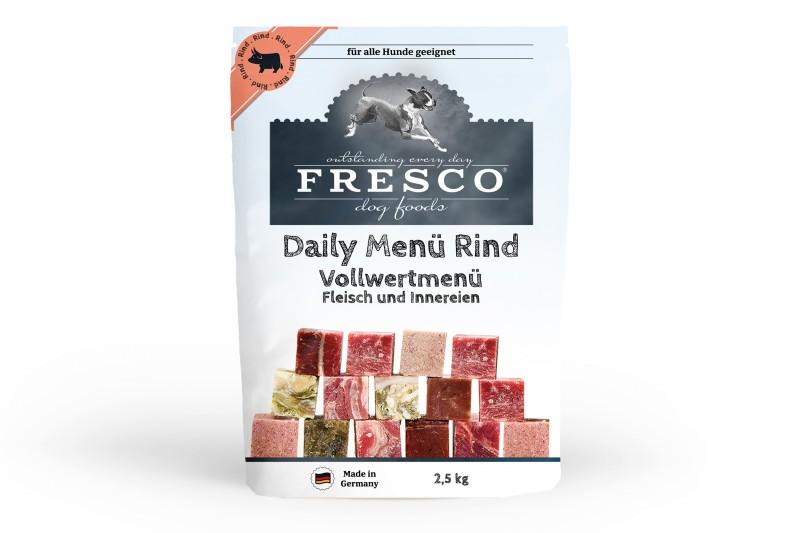 Fertigbarf Vollwert Daily-Menü Rind (gewürfelt)