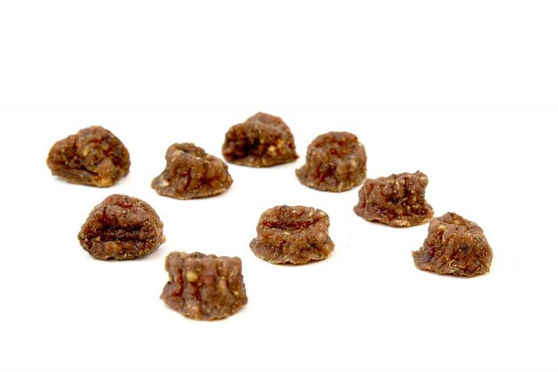 Trockenbarf Complete-Menü Ente mit Topinambur, Kranbeeren und Löwenzahn