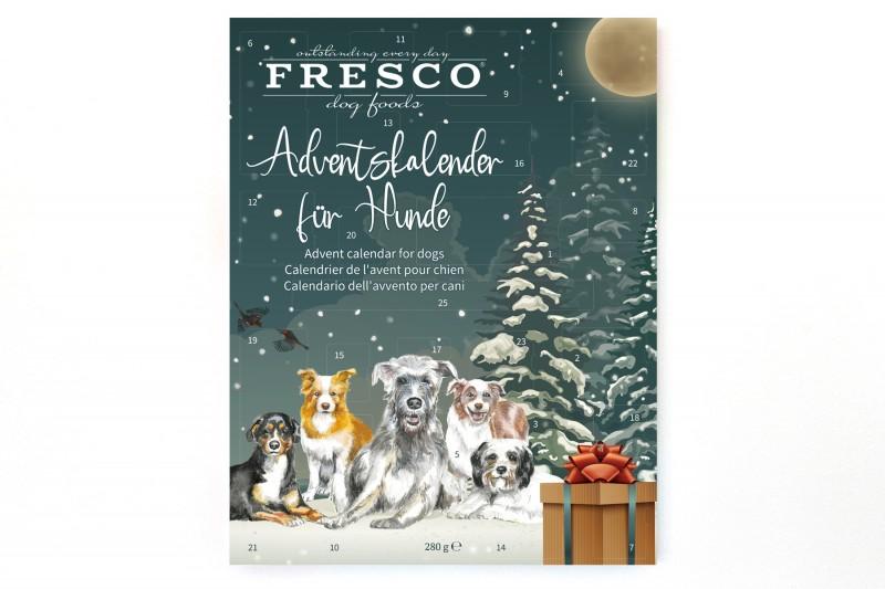 Adventskalender (gemalte Hunde)