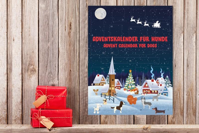 Adventskalender (Schneelandschaft)