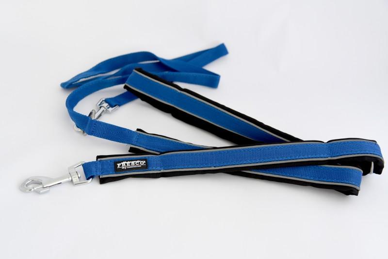 """Verstellbare Führleine """"Reflect"""" (blau)"""