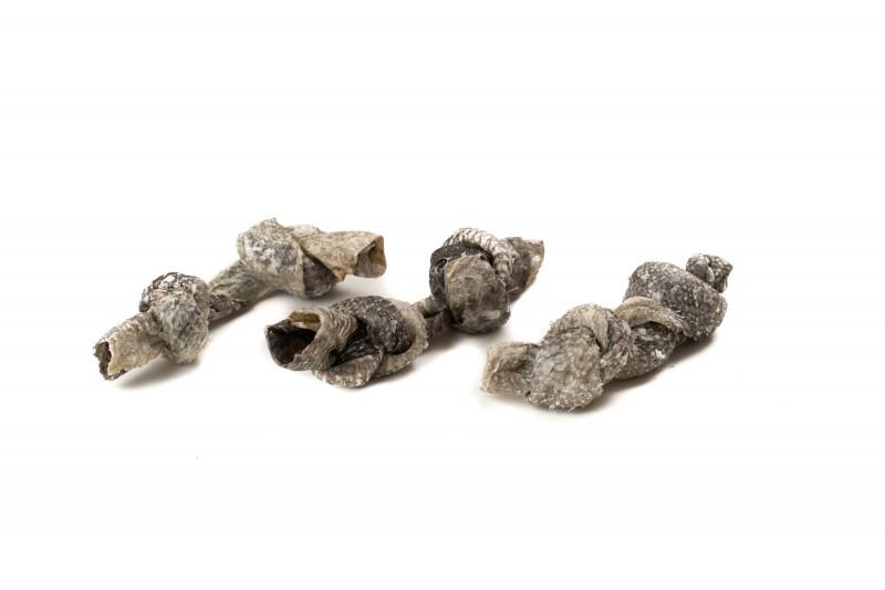 Knusprige Kabeljau-Knoten